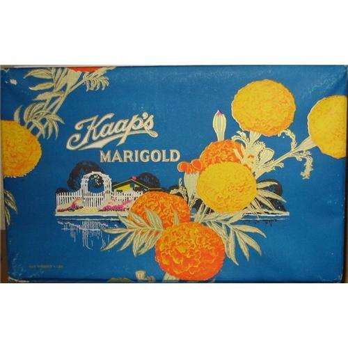 old vintage MARIGOLD CANDIES CANDY BOX ~ 1930s #2335902