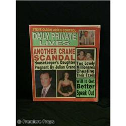 Passions Julian/Theresa Tabloid TV Movie Props