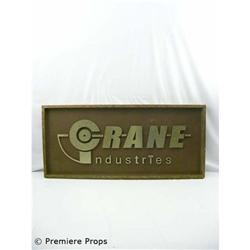 Passions Crane Industries Sign TV Props