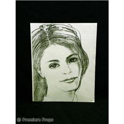 Passions SKETCH of Theresa TV Movie Props