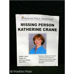 Passions Katherine MISSING POSTER TV Movie Props