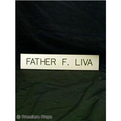 Passions Father F.'s DESK PLATE TV Props