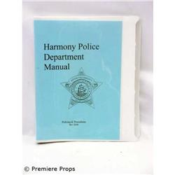 Passions HARMONY POLICE TV Movie Props