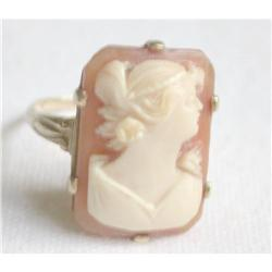 Cameo , 10K Gold Ring #2358175