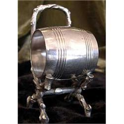 Silverplate Tree Branch Chair Napkin Ring #2358181