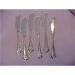 Wallace Carmel Sterling Butter Knives #2358182