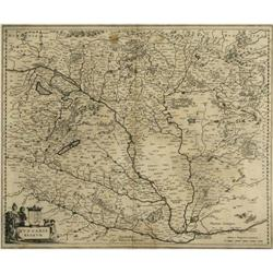 Map-Maker: BLAEU - Title: Hungaria Regnum #2358194