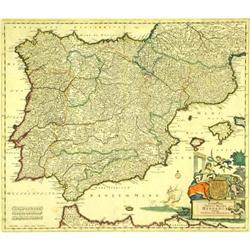Accuratissima Totius Regni Hispaniae Tabula #2358197