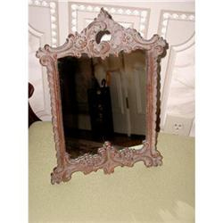 Victorian Rococo Vanity Mirror Carved C.1910-20#2358208