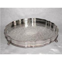 Reed Barton Tray Silver Plate #2358212