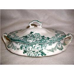 Porcelain Tureen Casserole Alfred Meakin 19th C#2358220