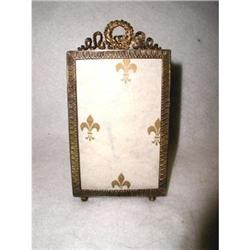 French Brass Frame Photo Ornate 19th Century #2358221