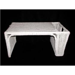 Wicker Bed Tray One Pocket C.1920 #2358223