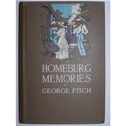 Homeburg Memories by George Fitch - SIGNED #2355683