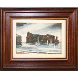 Coast Perce Montreal impressionist Quirion #2355685