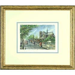 Paris Notre Dame France Agas print #2355688