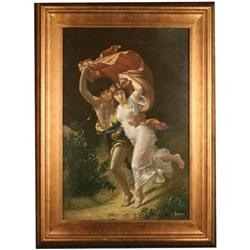 ?Escape? Original Master Oil Painting Visetti #2355692