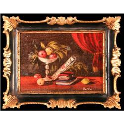 Tabletop Elegance Veove still life oil painting#2355720