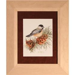 """Bird on Branch"" lithograph Crystal Skelley #2355721"