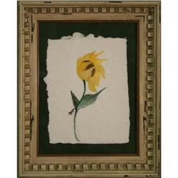 Sunflower in the Wind, Original Watercolor #2355726