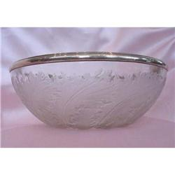R. Lalique Bowl with Leaves #2370961