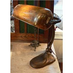 Antique Handel Bronze Desk Lamp #2370966