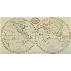 Map of World  Best Authorities BRIGHTLY 1807 #2370978