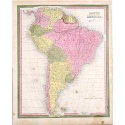 Map of South America by Mitchell #2370980