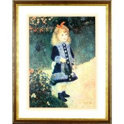 A Girl with a Watering Can Renoir print #2393515