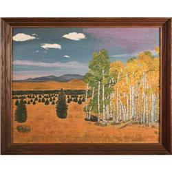 Bury- Acrylic Landscape Painting   #2393518