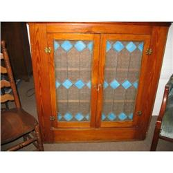 Pine Hanging Cupboard  Cabinetwith Stained #2393537