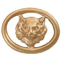 Antique 18K Gold Fox Head Nouveau Cufflinks #2393545