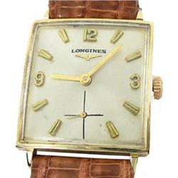 Antique 14K Gold Longines ca1922 Gents Watch  #2393552