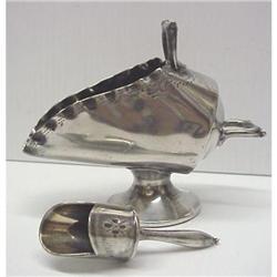 Victorian Silver 2 pce SUGAR BOWL #2393562