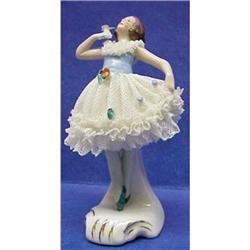 Lovely Antique Dresden Figurine #2393588