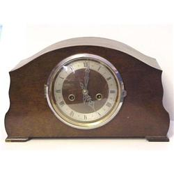Antique Wood Case Mantel Clock  #2393595