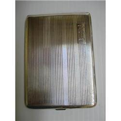Birks STERLING CIGARETTE CASE MONO.R.H.H. #2393601