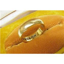 Antique 18k Wedding Band - RING #2393605
