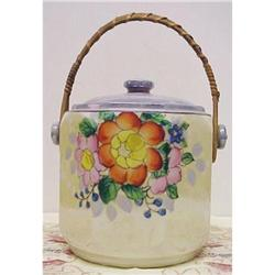 COTTAGE CHIC - BISCUIT COOKIE JAR-LUSTER #2393609