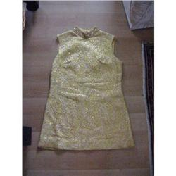 Tailor made Vintage 2pc. outfit gold jewltone! #2393622