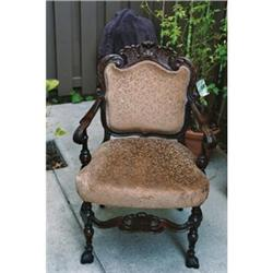 Victorian Rococo style Arm chair    #2393632