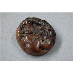 Carved Hardstone Pendant #2393646