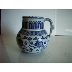 chinese blue and white tankard #2393659