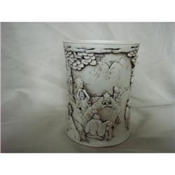 chinese porcelain brushpot #2393662