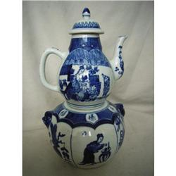 chinese porcelain teapot #2393668