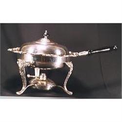 Silverplated chaffing dish (3pcs) #2393673