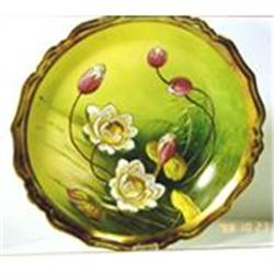 Limoge bowl with magnolia flowers. #2393678