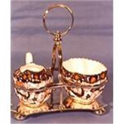 Copeland porcelainsugar and creamer in #2393686