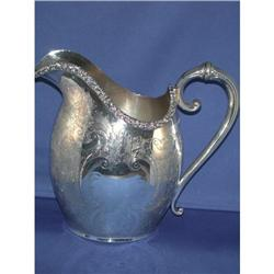 Sheffield silverplated pitcher #2393689