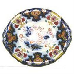 English oval footed serving dish #2393692